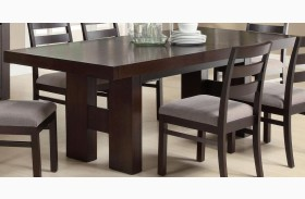 Dabny Cappuccino Rectangular Dining Table