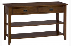 Mission Oak Sofa Table
