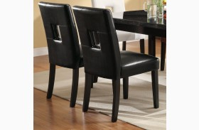 Newbridge Black Dining Chair 103612BLK Set of 2