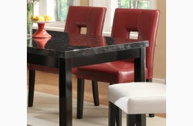 Newbridge Red Dining Chair 103612RED Set of 2