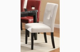 Newbridge White Dining Chair 103612WHT Set of 2