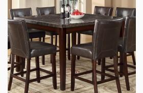 Milton Dark Cappuccino Counter Height Table