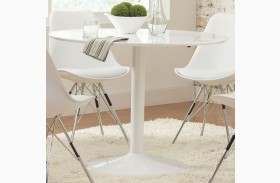 Lowry White Dining Table