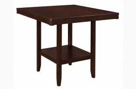 Fattori Espresso Counter Height Dining Table