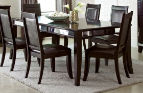 Middleton Cappuccino Extendable Rectangular Dining Table