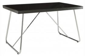 Avram Black Rectangular Dining Table
