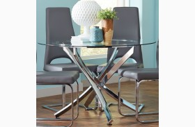 Augustin Chrome Dining Table