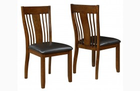 Abrams Truffle Side Chair Set of 2