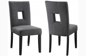 Andenne Gray Dining Chair Set of 2