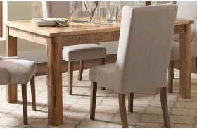 Solomon Natural Mango Dining Table