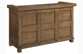 Willowbrook Rustic Ash Bar Cabinet