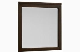 Kismet Walnut Landscape Mirror