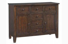 Vintage Sienna Brown Sideboard