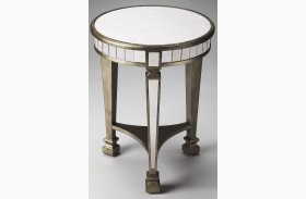 Garbo Masterpiece Mirror End Table