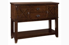 Sonoma Warm Medium Oak Sideboard