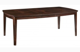 Park Avenue Espresso Brown Extendable Dining Table