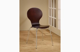 Orval Cappuccino Chair Set of 4