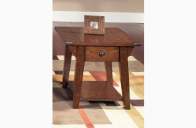 Cabin Fever Drawer End Table