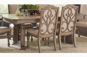 Ilana Antique Linen Dining Table