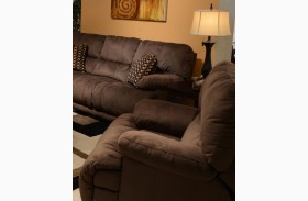 Riley Coffee Rocker Recliner