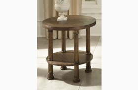 Clockworks Antique Coffee End Table