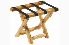 Cedar Luggage Rack