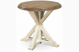 Great Rooms Garden End Table