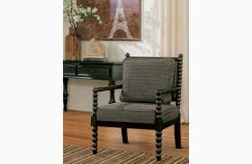Milari Linen Rayon Accent Chair