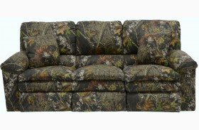 Trapper Mossy Oak New Breakup Reclining Sofa