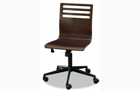 Classics Cherry 4.0 Smartstuff Swivel Desk Chair