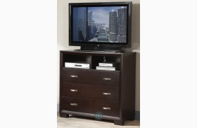 Astrid Espresso TV Chest