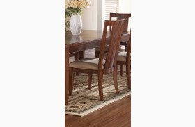 Runway Panel Back Side Chair Set of 2