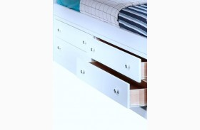 Bayfront White Drawer Storage Base