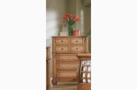 Palm Court Island Pine 7 Drawer Chest