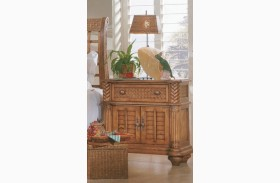 Palm Court Island Pine 2 Drawer Bedside Chest