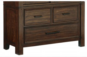 Cameron Golden Tobacco Brown Buffet