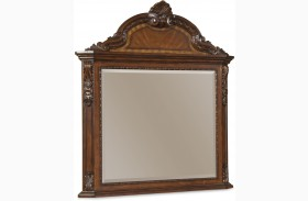 Old World Landscape Mirror