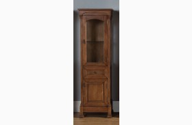 Brookfield Country Oak Linen Cabinet