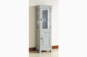 Brookfield Urban Gray Linen Cabinet