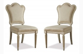 Provenance Upholstered Back Side Chair Set of 2