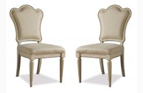 Provenance Upholstered Back Side Chair Set of 2