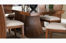 Milan Rectangular Pedestal Dining Table