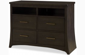 Novara Charcoal Grappa Media Chest