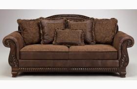 Bradington Truffle Sofa