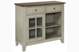 Pendleton Sage Burnished Sage Paint Sideboard