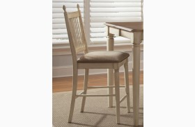 Cottage Cove Upholstered Counter Chair Set of 2