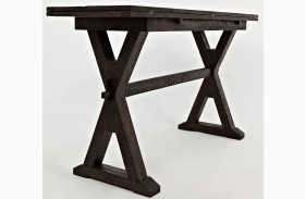 Pacific Heights Chestnut Drop Leaf Sofa Table/Desk