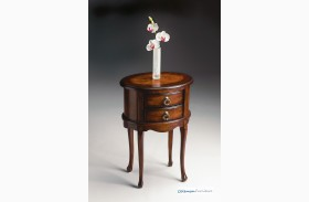 Plantation Cherry 1589024 Oval Side Table