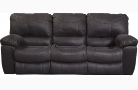 Terrance Black Power Reclining Sofa
