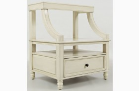 Avignon Ivory Step Up Nightstand